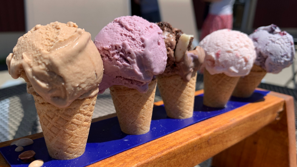 Walpole Creamery Ice Cream Flights